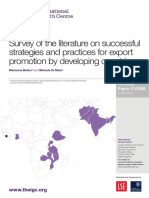 Survey of the literature on successful strategies and practices for export promotion by developing countries.pdf