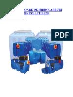 Separator de Hidrocarburi PEHD