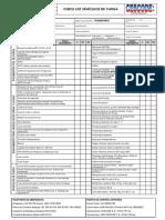 10 Tan-nop-irr-004-Reg-014 Check List General de Vehículos Livianos, Auxiliares y de Carga 2017