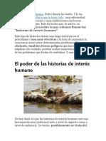 Los Efectos Perversos de Las Historias de Interés Humano Explicados Con Más de 50 Estudios Científicos