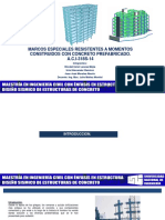 Marcos Especiales Resitentes a Momentos de Concreto Prefabricados UL