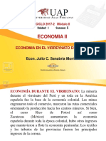 Semana 05 La Economia en El Virreynato Del Peru