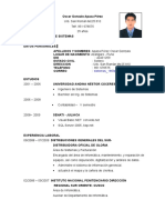 Oscar Gonzalo Apaza Perez_curriculum F