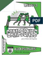 Campeones Adolescentes 3 Es