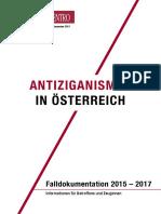 Antiziganismus in Oesterreich 2015-2017