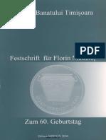 Festschrift für Florin Medelet