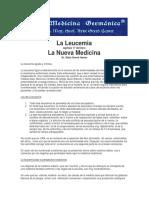 La Leucemia. Dr. Hamer