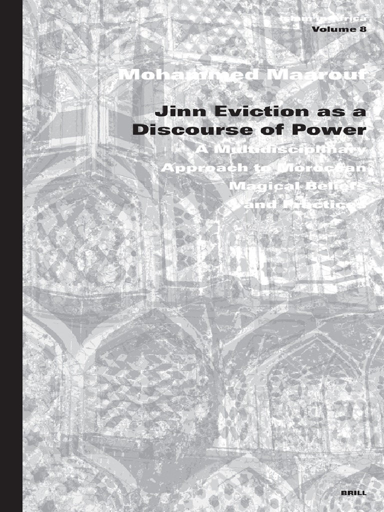 Maarouf, M.-Jinn Eviction as a Discourse of Power (Islam in Africa ...