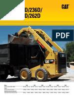 Minicargadores 236 D
