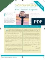 The Mount Vernon Report Winter 2009 - vol. 9, no. 4