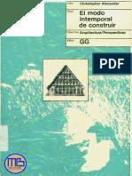 El Modo Intemporal de Construir - MEGA BIBLIOTECA - MB