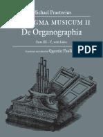 Syntagma Musicum II de Organographia Parts III-IV-V (de Praetorius)