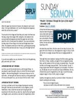 Growth Guide Week of December 25