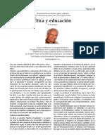 Ética y Educación