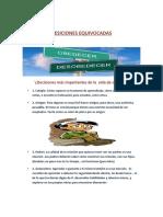 DESICIONES EQUIVOCADAS