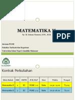 Matematka II