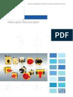 WEG Msw Interruptor Seccionador 50039911 Catalogo Espanol