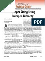 Damper Sizing Authority