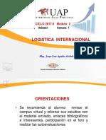 Semana 1 - Introduccion a La Introduccion a La Gestion Logistica -Parte 1