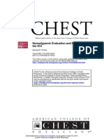 Hemodynamic Evaluation
