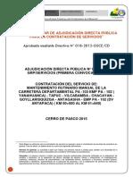 Adjudicacion Directa Publica N 0032015 Servicios de Mantimiento PA 103 PUBLICAR_20150812_115612_968
