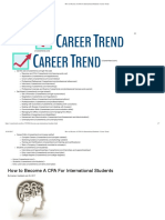 How to Become a CPA for International Students _ Career Trend
