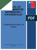 Manual de Procedimientos Geodésicos y Topográficos de La CNR Al 06-08-15 (1)