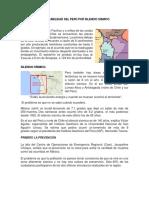 Vulnerabilidad Del Perú Por Silencio Sismico