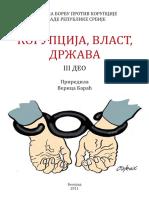 Korupcija Vlast Drzava - III Deo