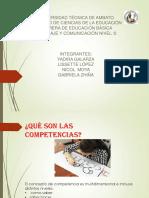Competencias Linguisticas