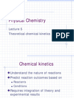 Lecture 5 Physical Chem