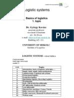 1.BasicLogistics