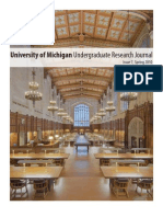 University of Michigan Undergraduate Research Journal Issue 7 / Winter 2010