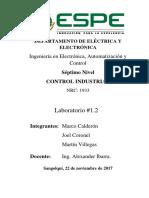 Control Industrial Aplicaciones