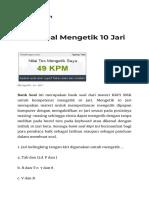 Bank Soal Mengetik 10 Jari.html