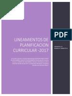 2 Lineamientos de Planificacion Curricular EPT 2017 1