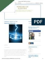 Pendawaian Elektrik_ Elektrik Dan Pembumian