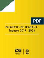 Proyecto de Trabajo 2019 - 2024