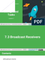 7.3 Broadcast Receivers