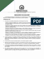 Resolucion VD R 8458 2009