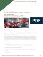 Sandvik DT821 Two Boom, Electro-Hydraulic Jumbo Drill Rig — Sandvik Mining & Rock Technology