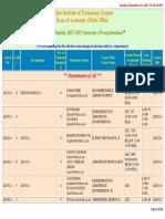 Course Schedule Pr 201718 2