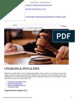 Charges & Penalties - Tenaga Nasional Berhad