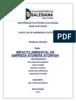 Estudio de Impacto Ambiental - ATUNFISH