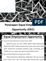 Ppt Penerapan Equal Employment Opportunity (EEO)