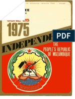 Independence the People's Republic of Mozambique