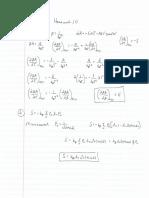 Homework20 Solutions