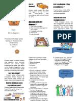 Leaflet Kompres Hangat Compress Fever