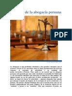 La Crisis de La Abogacía Peruana