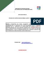 Contratacion Minima Cuantia No 009 113 de 2015 INVITACION a CONTRATAR